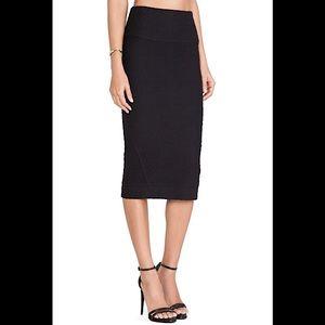 IRO 'Kaya' Textured Midi-Length Pencil Skirt